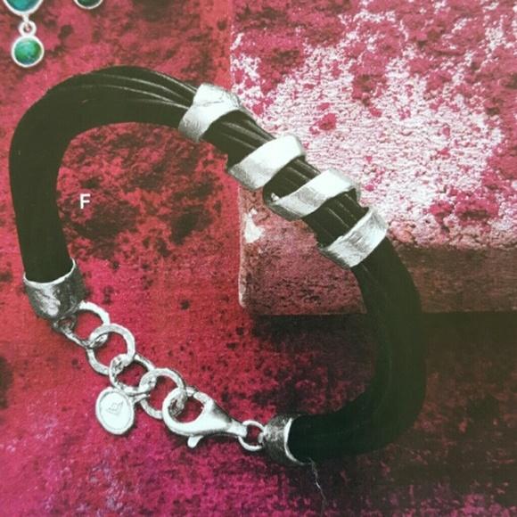 Silpada Jewelry - NWT Silpada Sterling silver and leather bracelet